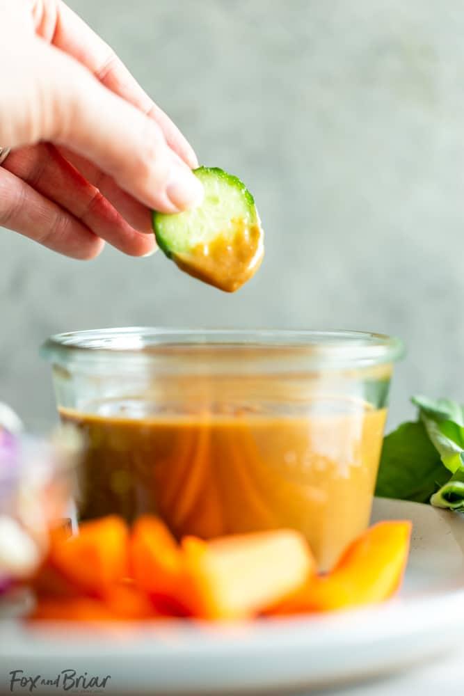 The Best Thai Peanut Sauce Recipe Fox And Briar