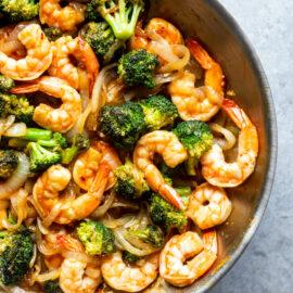 Easy Broccoli and Shrimp Stir Fry