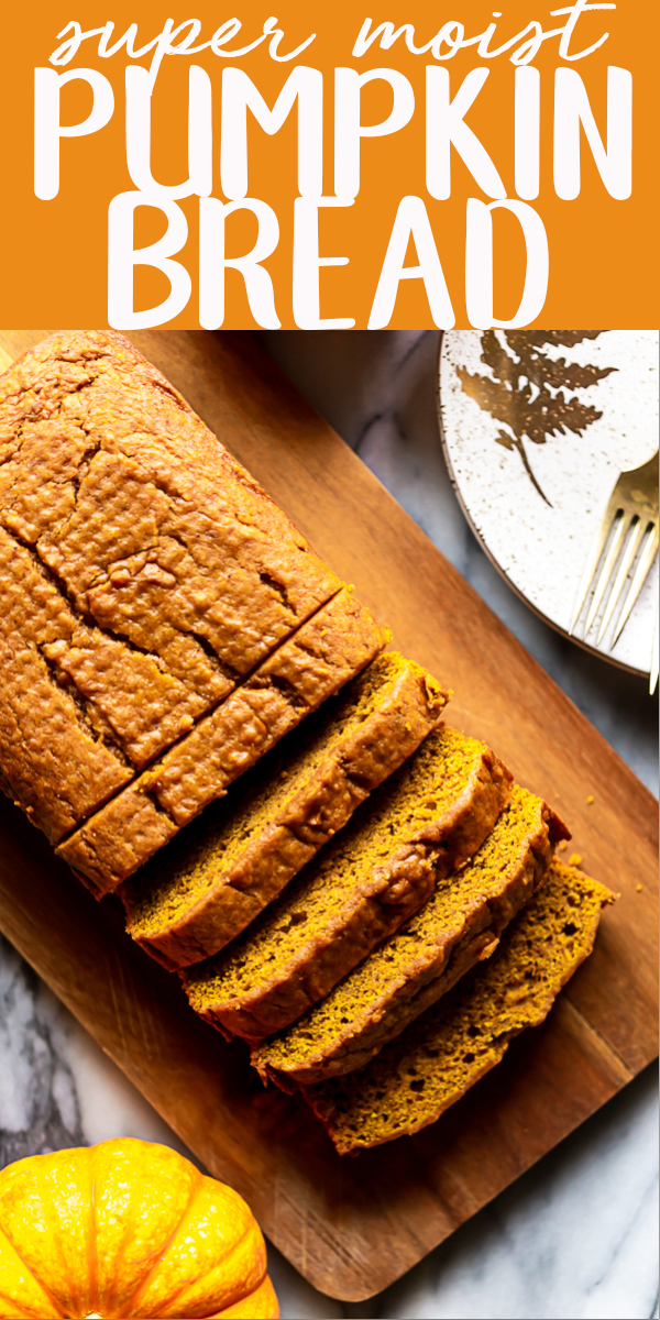 Here is my tested and approved Pumpkin Bread Recipe!   This Pumpkin Loaf is moist and full of autumn spices. | Moist Pumpkin Bread | Easy Pumpkin Bread | Starbucks Copycat | Best Pumpkin Bread | Libby's Pumpkin Bread | Homemade from scratch