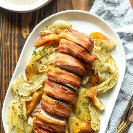 Bacon Wrapped Pork Tenderloin Recipe