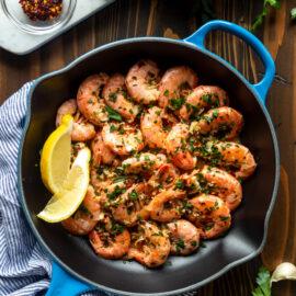 Easy Garlic Butter Shrimp