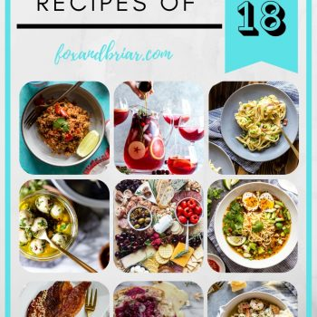 Most Popular Recipes of 2018