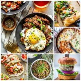 25 Quick & Easy Ground Beef Recipes...
