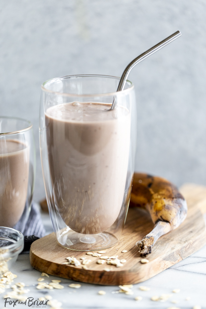 Healthy Chocolate Protein Smoothie
