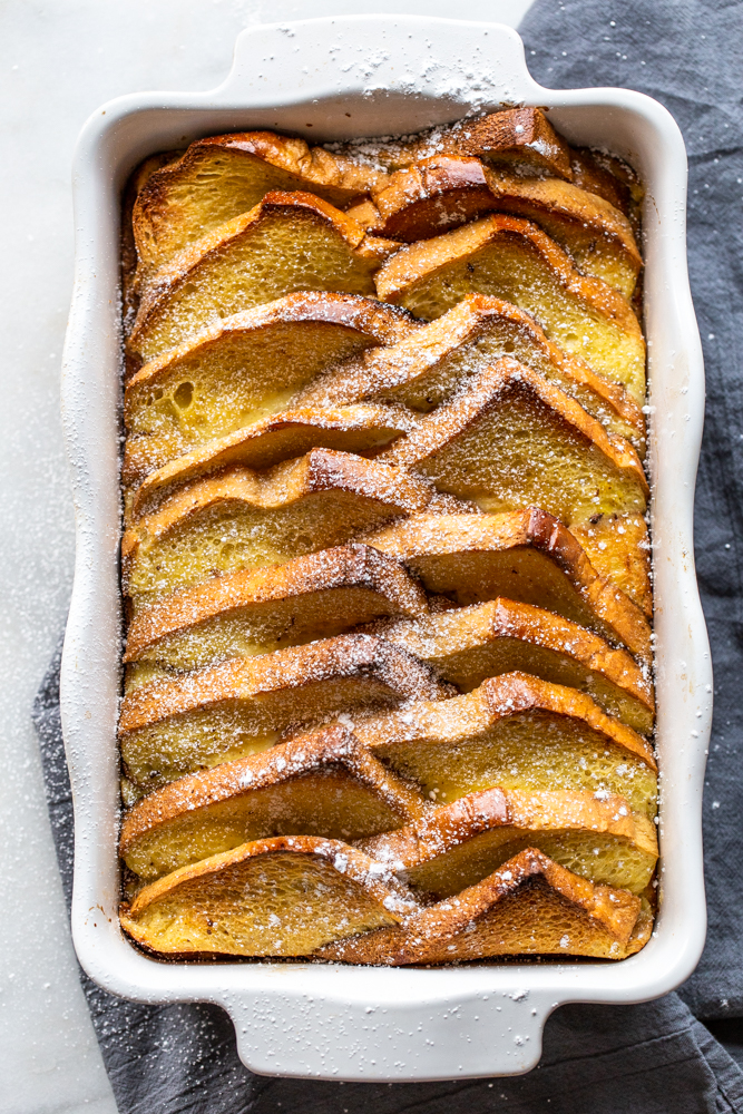 Easy French Toast Bake - Fox and Briar