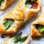 Prosciutto Asparagus Puff Pastry Bundles...