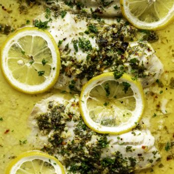 Lemon Butter Baked Tilapia Recipe