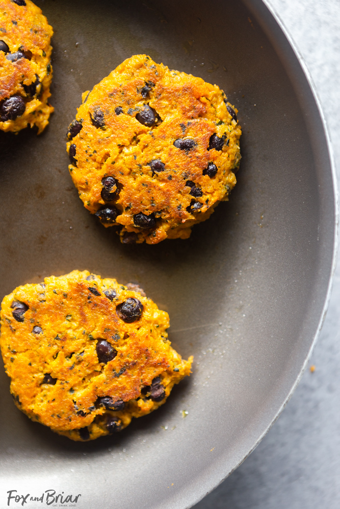 Sweet Potato Kale And Black Bean Patties For Babies And Toddlers