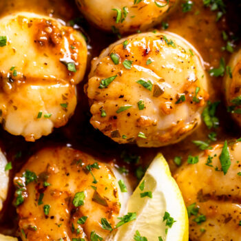 Lemon Butter Scallops Recipe
