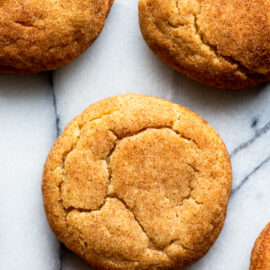 Brown Butter Snickerdoodle Cookie Recipe...