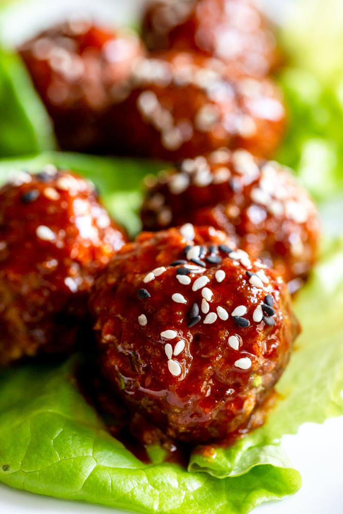 Easy Korean Meatballs Recipe