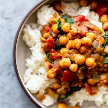 Easy Chickpea Coconut Curry