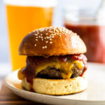 Grilled BBQ Burger Recipe