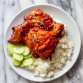 Korean Chicken Thighs
